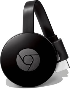 Imagem do dispositivo Chromecast 2