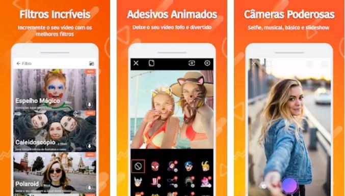 app pra fazer vídeo com fotos