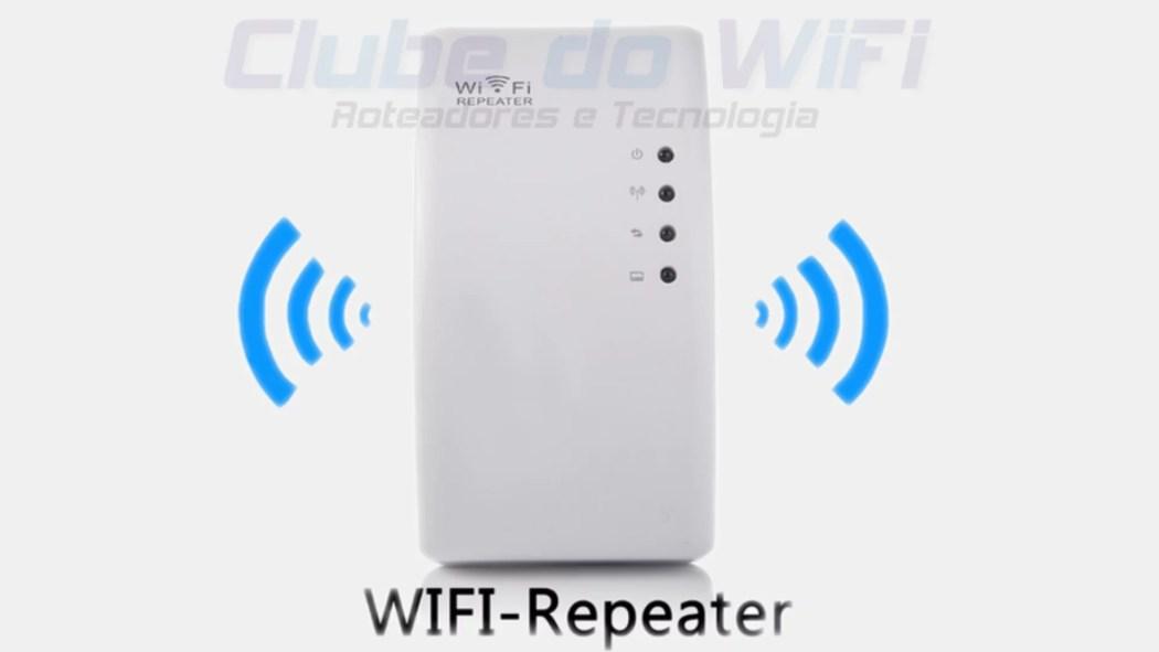 Imagem de um Repetidor Wi-Fi de login pelo IP 192.168.10.1