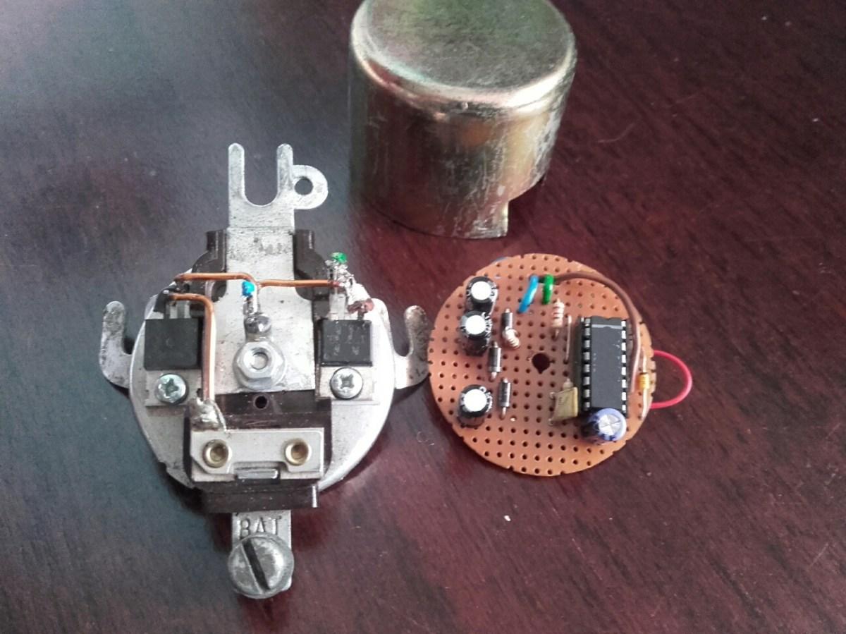 Model T Ford Generator Voltage Regulator – Electronics