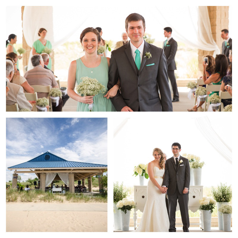 Beach Wedding Ceremony Michigan: Southwest Michigan Beach Weddings