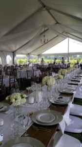 4 Panels of White Tulle, with Twinkle Lights Inside, 1 Large Brushed Gold Chandelier