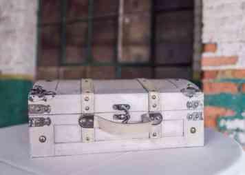 Cream Colored Suitcase