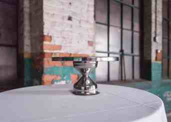 Silver Pedestal Cake Stand