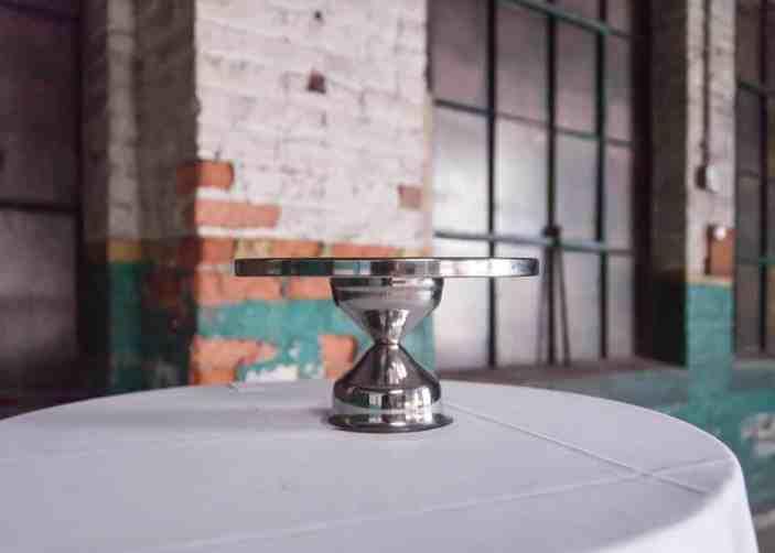 Silver Pedestal Cake Stand