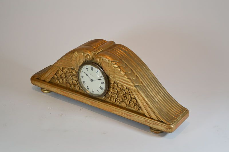 1930fr Paul Follot Art Deco Clock Art Deco Sculptures