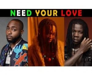 Ayanfe Ft. Stonebwoy & Davido – Need Your Love