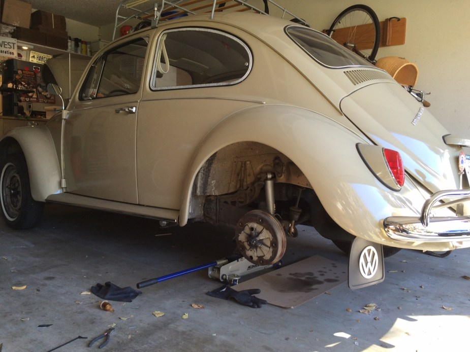 Vintage Volkswagen Fuel Filter Installation