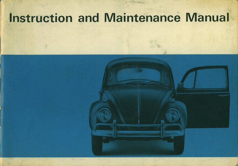 Vw Beetle Instruction Manual - Complete Wiring Diagrams •