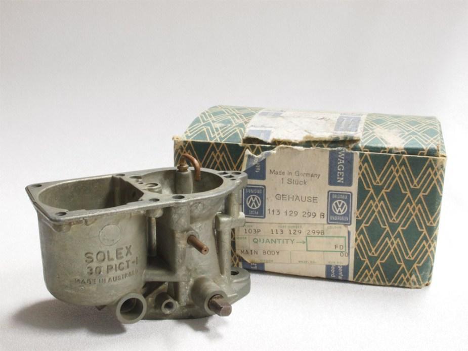 NOS Solex 30 Pict-1 Carburettor