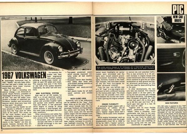 '67 Volkswagen Beetle — More Improvements Than Before