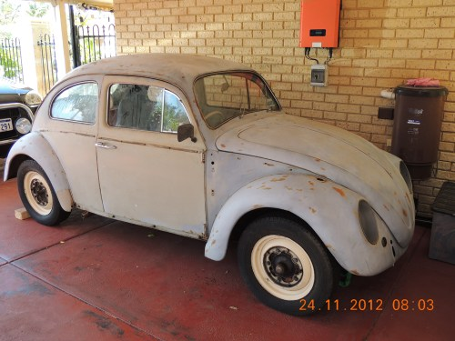 Featured RHD '67 Beetle — Graham Patterson