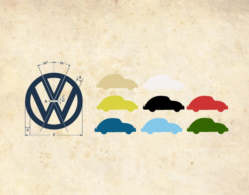 '67 Volkswagen Beetle — Correct Running Board Color Combinations