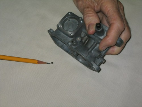 '67 Volkswagen Beetle — Carburetor Rebuild; Check Ball Removal and Installation