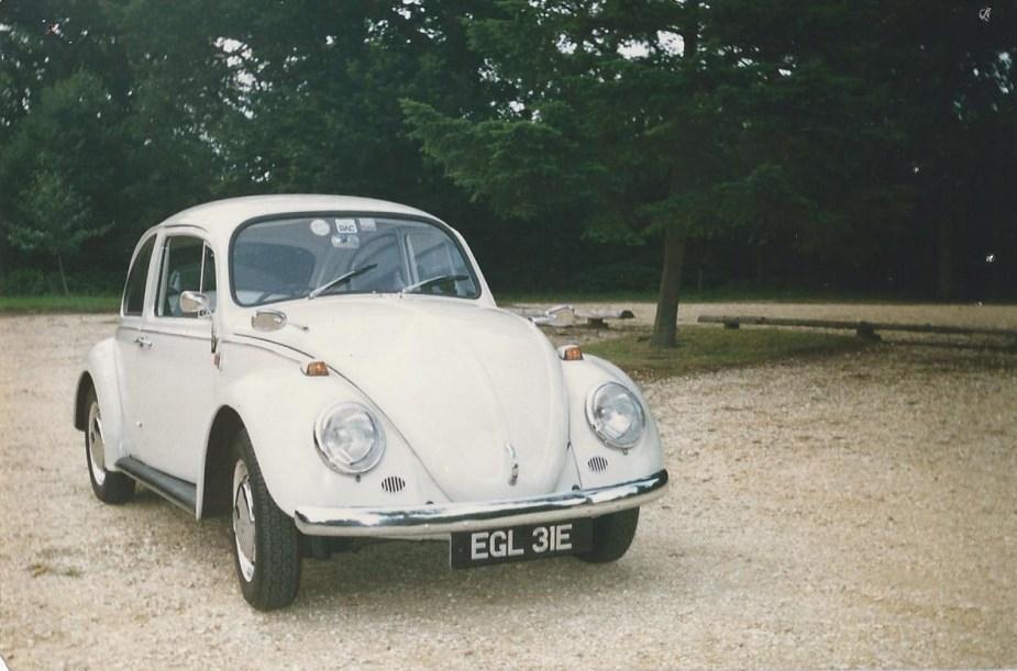 Robin Snook's '67 Beetle