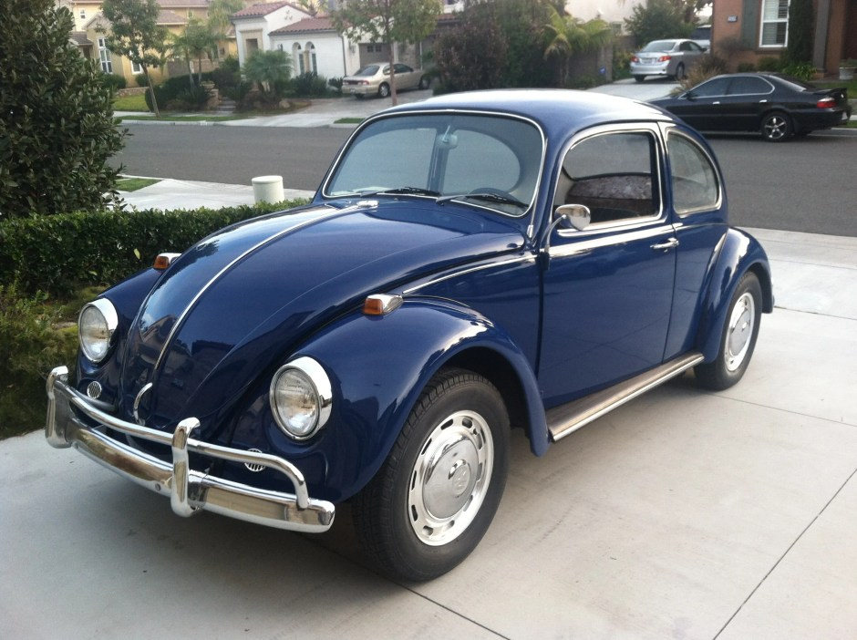 FOR SALE: L633 VW Blue '67 Beetle