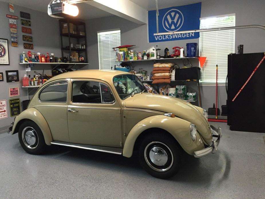 Sean Hart's L620 Savanna Beige '67 Beetle