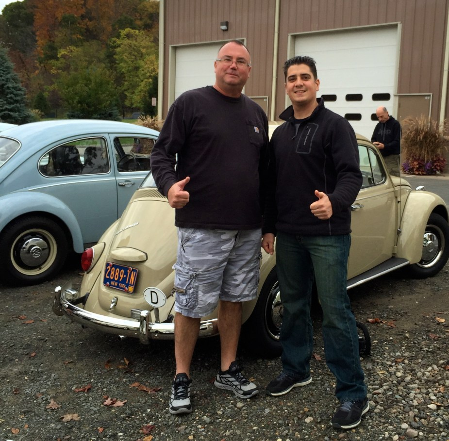 Vintage Volkswagen Fall Foliage Cruise