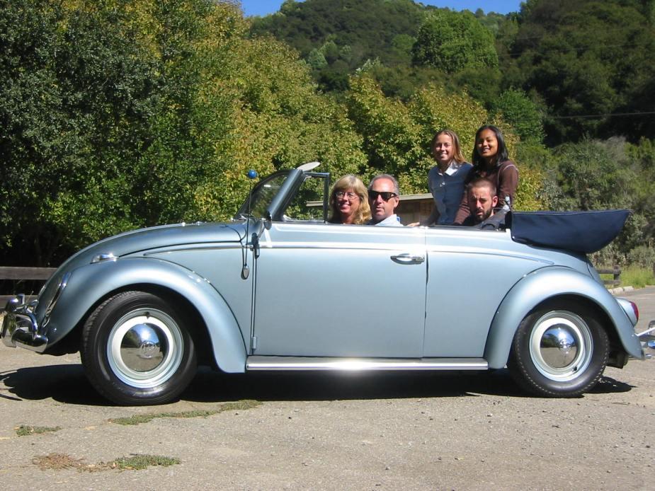 Joe Blackman VW Beetle with Family