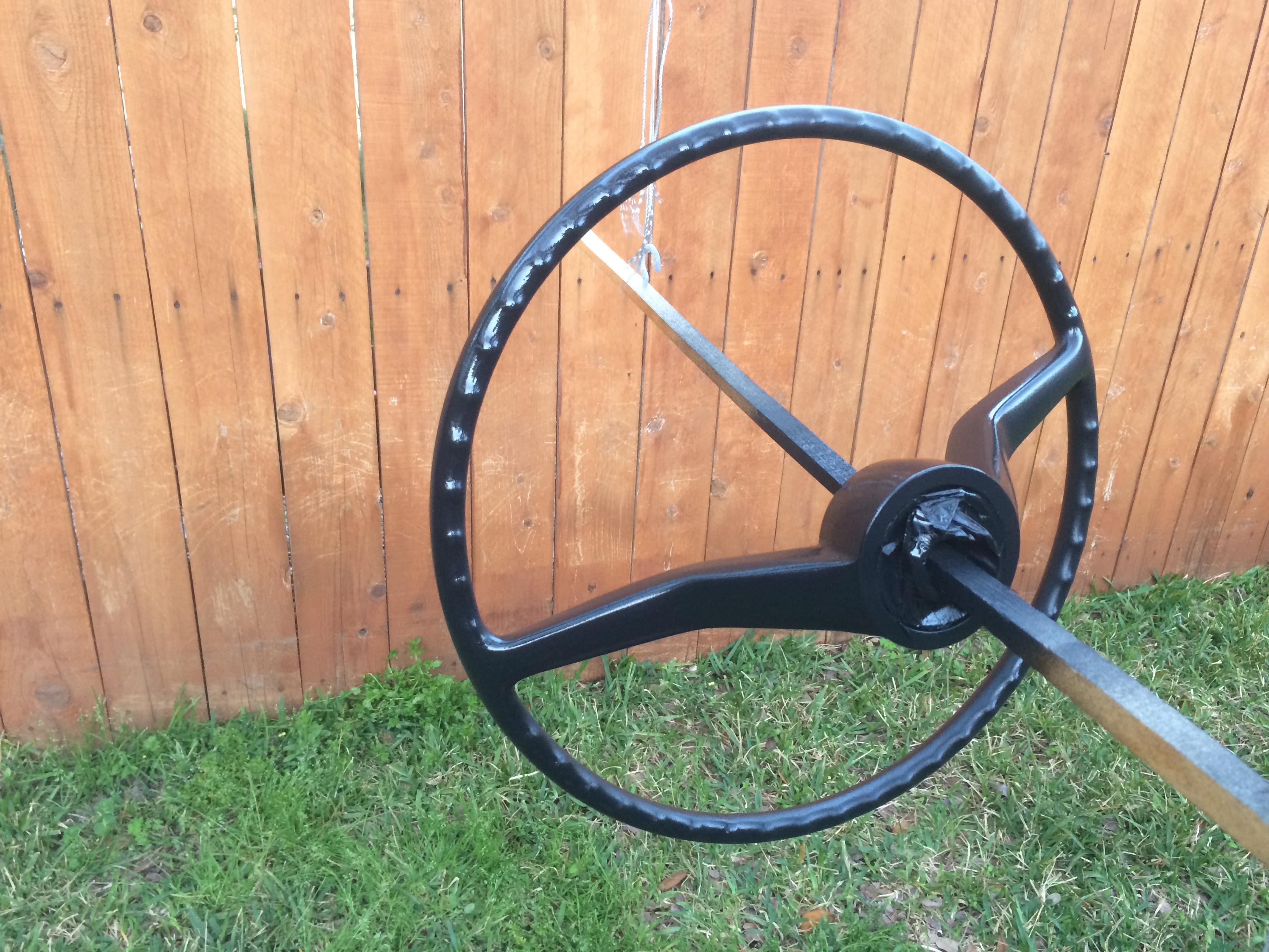 Vintage Volkswagen Steering Wheel Restoration  U2013 1967 Vw Beetle