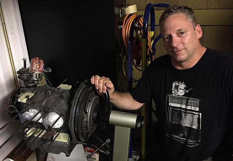 Franken Fritz engine coming together
