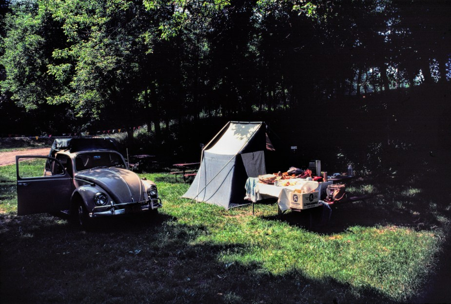 Camp Site, Kentucky, 6-79