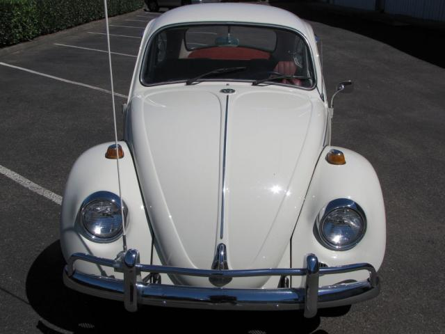 FOR SALE — L282 Lotus White '67 Beetle.