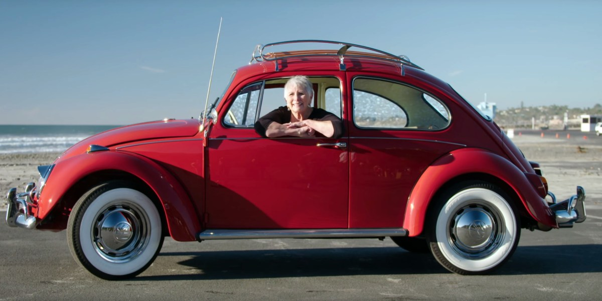 Kathleen Brooks - L456 Ruby Red '67 Beetle