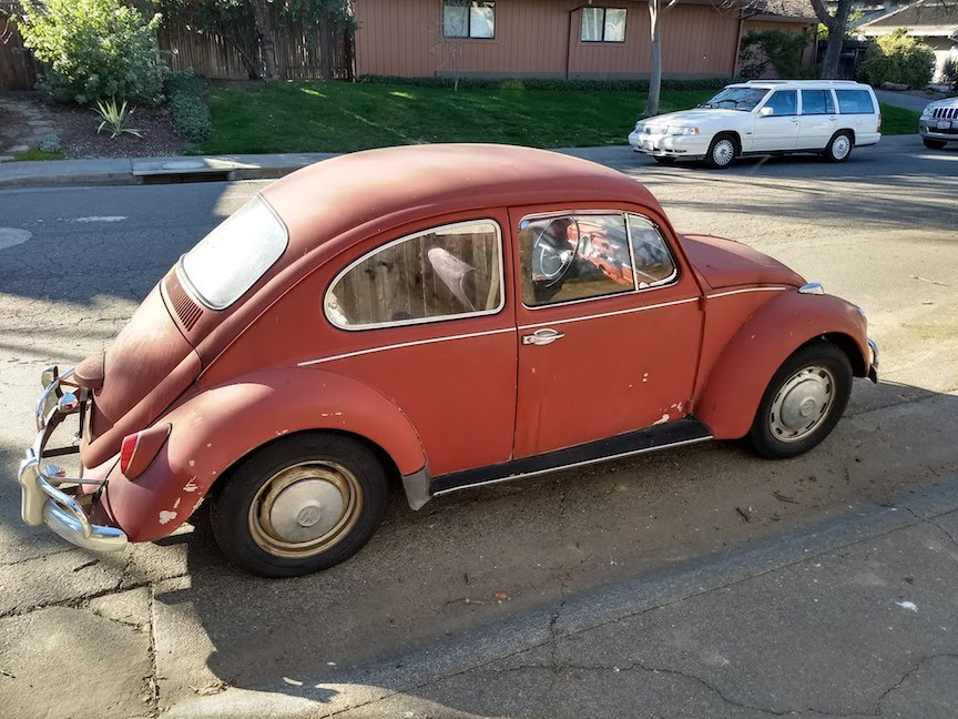 FOR SALE - L456 Ruby Red '67 Beetle