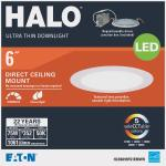 Halo 6 In Retrofit Selectable Color Temperature Ultra Thin Led Recessed Light Kit 1100 Lm Portage Lumber