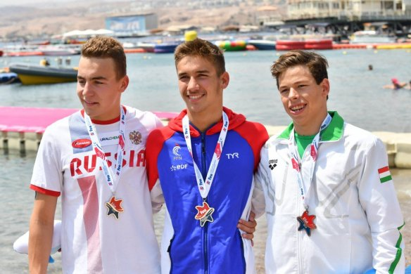 5to. Campeonato FINA Mundial Junior de Aguas Abiertas 2018