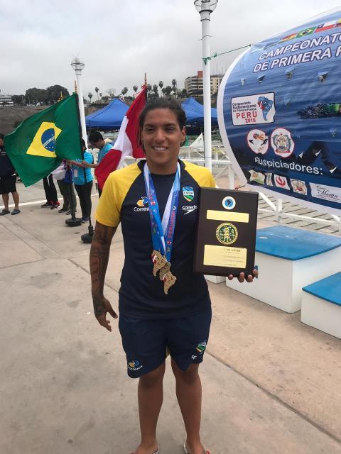 Ana Marcela Cunha Trofeo Senor del Sipan 2018