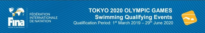 Qualification System for the swimming competitions of de Tokyo 2020 Olympic Games