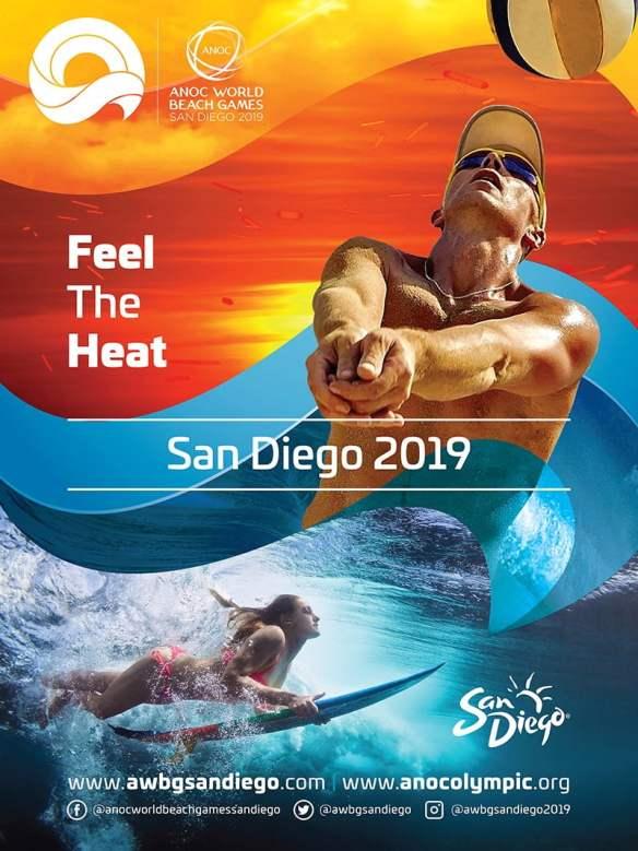 ANOC World Beach Games in San Diego