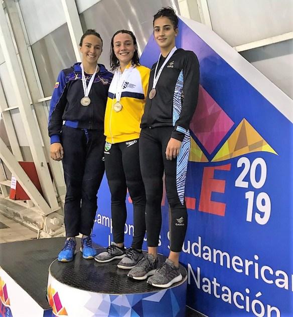 Mayerly Escalante XXVII Campeonato Sudamericano Juvenil