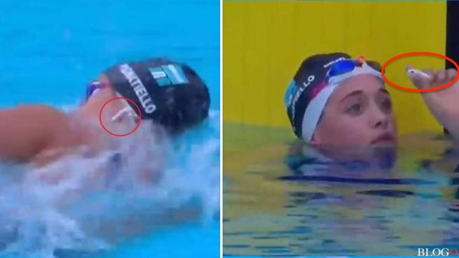 Delfina Pignatiello Record Suramericano 800m Libre en Mare Nostrum