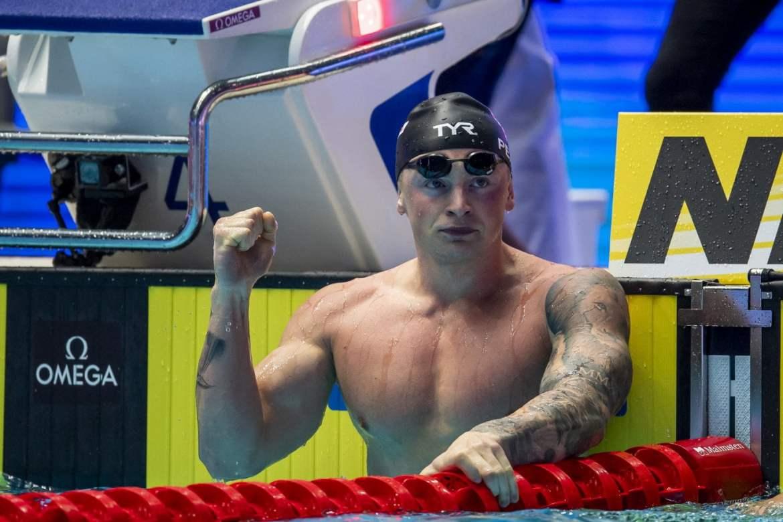 Campeonato Mundial FINA Natacion Gwangju 2019 Adam Peaty Record SemiFinal 100 Pecho