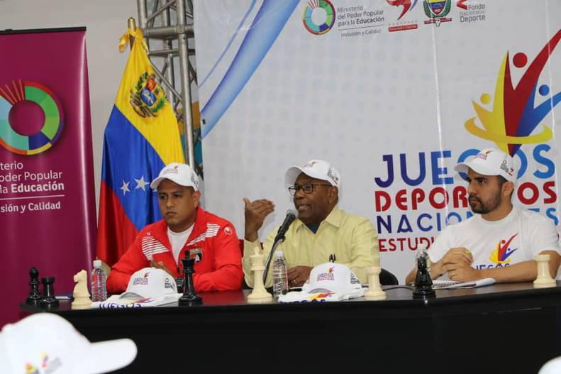 Más de 4 mil jóvenes participarán en los Juegos Deportivos Nacionales Estudiantiles 2019