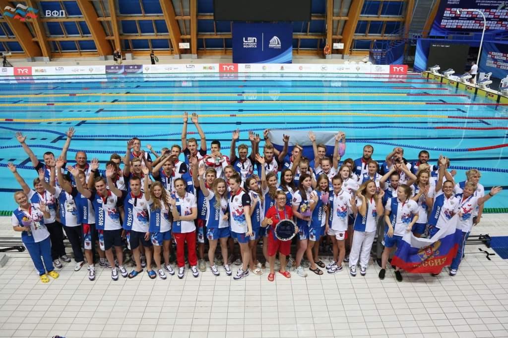 Rusia Campeon LEN European Junior Championships Kazan 2019