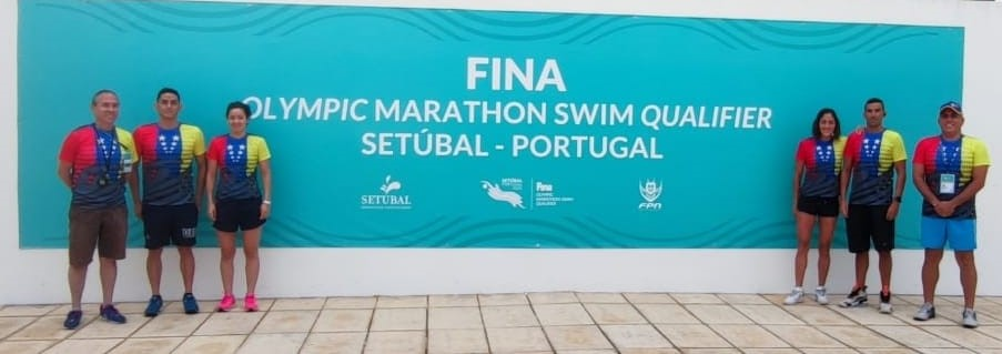 Venezuela presente en Clasificatorio Olímpico FINA de Natación de Aguas Setubal 2021