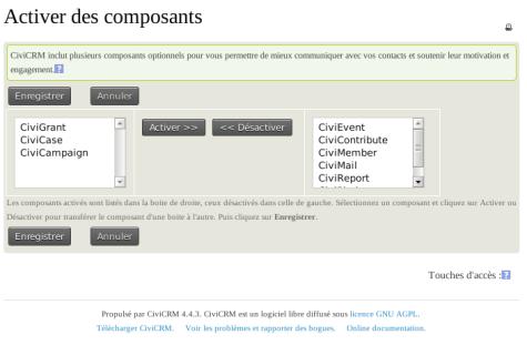 CiviCRM Param Config Site Modules