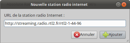 Nouvelle station radio internet RTL2