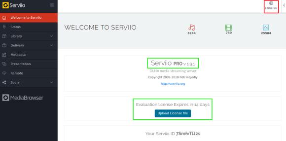 Console-Serviio-Mis-a-jour