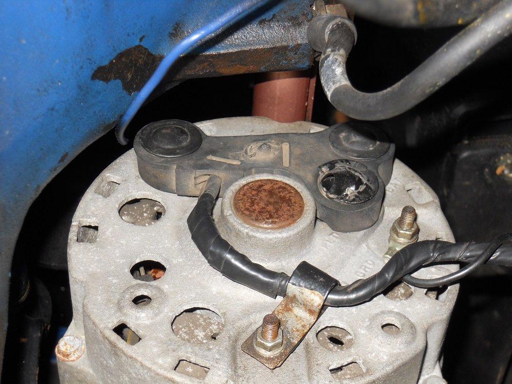 69 Mach1 Alternator Wiring Harness