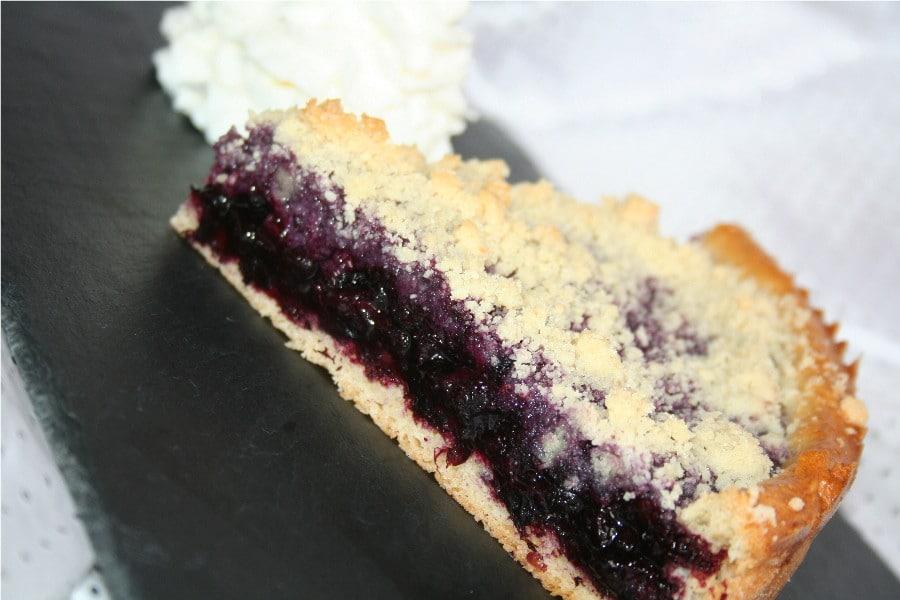 Blueberry Tart - Czech Recipe