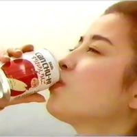 1994年(平成6年)タカラ缶チューハイ「すりおろしりんご」CM「すったもんだがありました」宮沢りえ