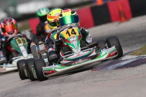 Dylan Tavella left Palm Beach International Raceway with a podium result to start his 2013 campaign (Photo: INTL-KartingMedia.com)