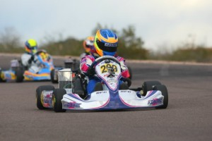 Junior Max was dominated by Blaine Rocha in Round 3 (Photo: Sean Buur - Go Racing Magazine)