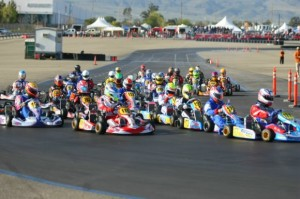 The Rotax Challenge of the Americas will award the first four tickets to the 2013 Rotax Grand Finals next weekend in Fontana, California (Photo: Sean Buur - Go Racing Magazine)