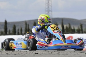 Lando Norris extended the championship lead with his second KFJ victory (Photo: Press.net Images)